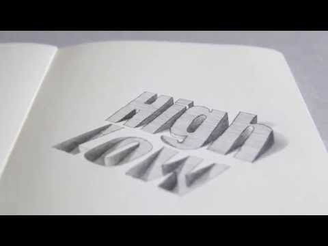 3d typography on behance zeichnen pinterest. Black Bedroom Furniture Sets. Home Design Ideas