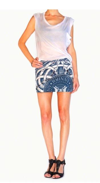 The Ramones Mini Skirt