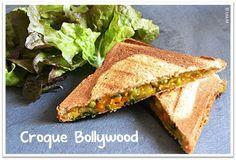 La cuisine indienne et les currys en particulier se prêtent bien à la préparation de sandwich notamment sous forme de croque. Ici, c'est un reste de curry de légumes qui m'a servi à préparer ce délicieux croque monsieur végétarien. Vous pouvez aussi le...