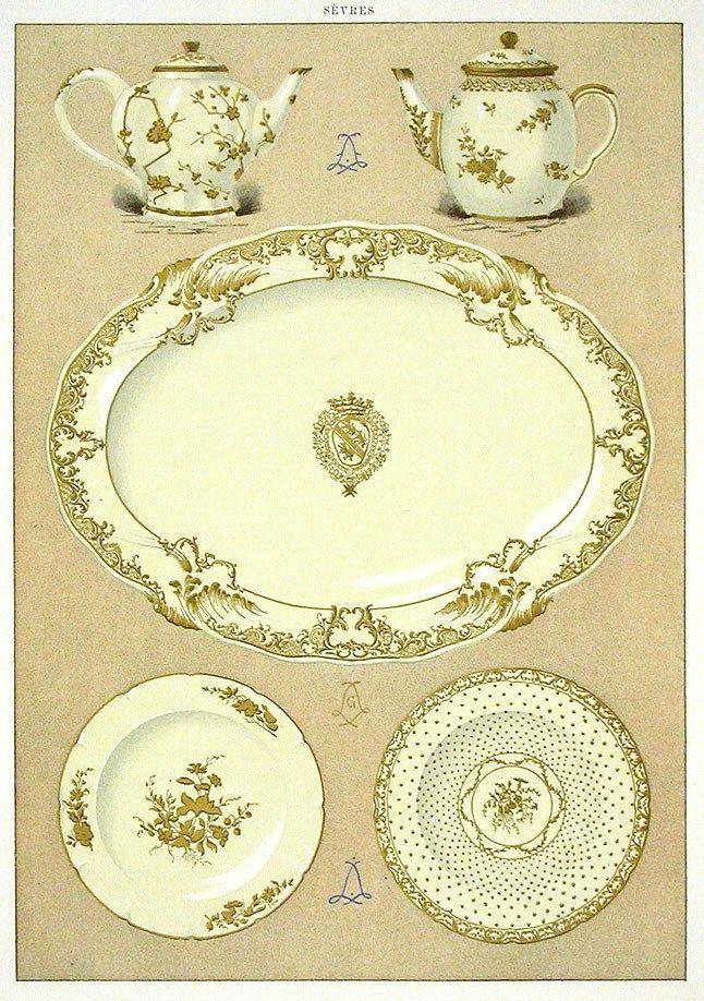 Sèvres Porcelain illustration.