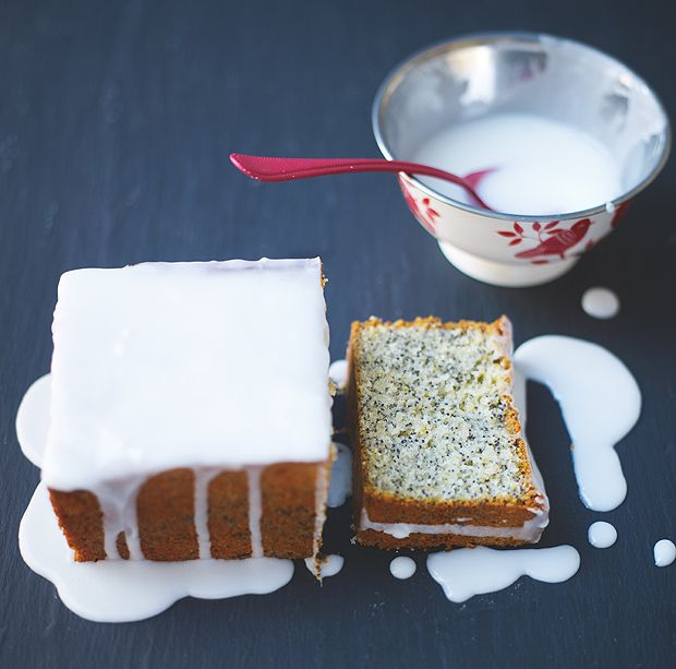 Lemon And Lime Poppy Seed Drizzle Cake Lorraine Pascale
