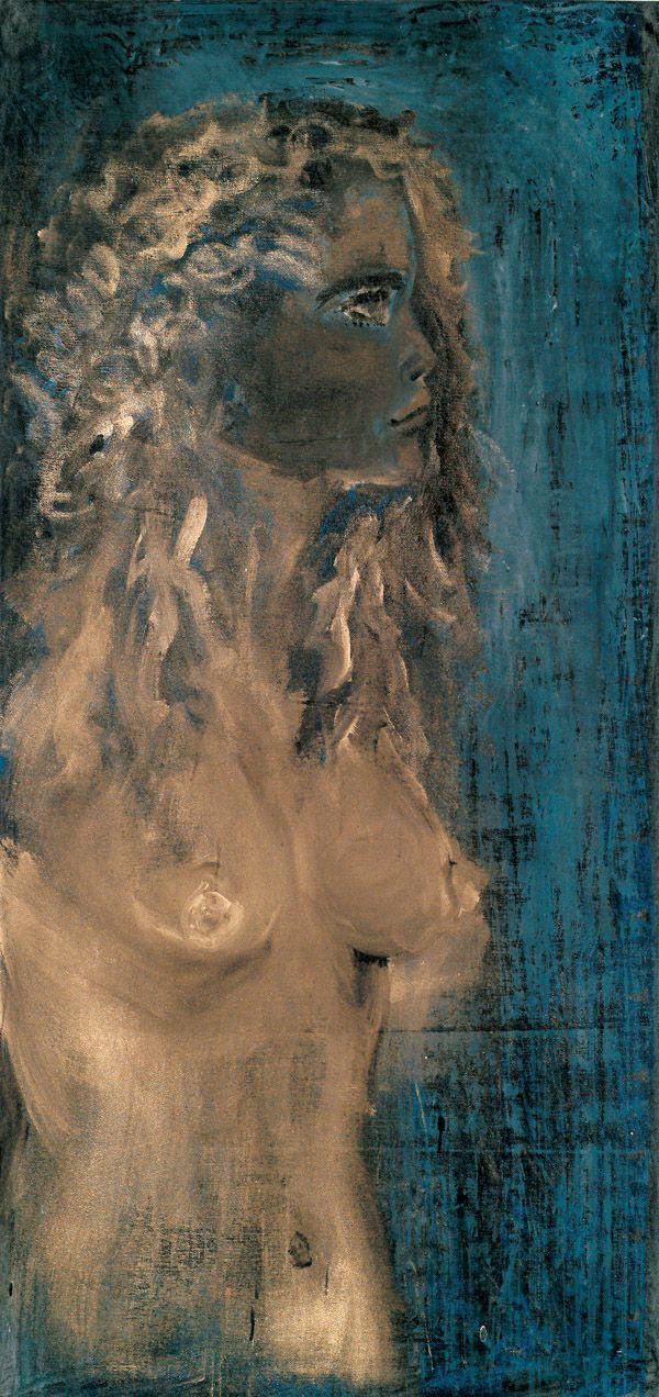 Jakub Špaňhel, Martina, 2004, 190 x 90 cm, akryl na plátně, foto: Martin Polák