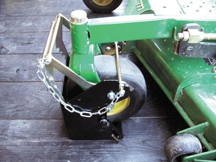 Jungle Jim MH-LARGE Large Mower Holder - Commercial Lawn Accessories