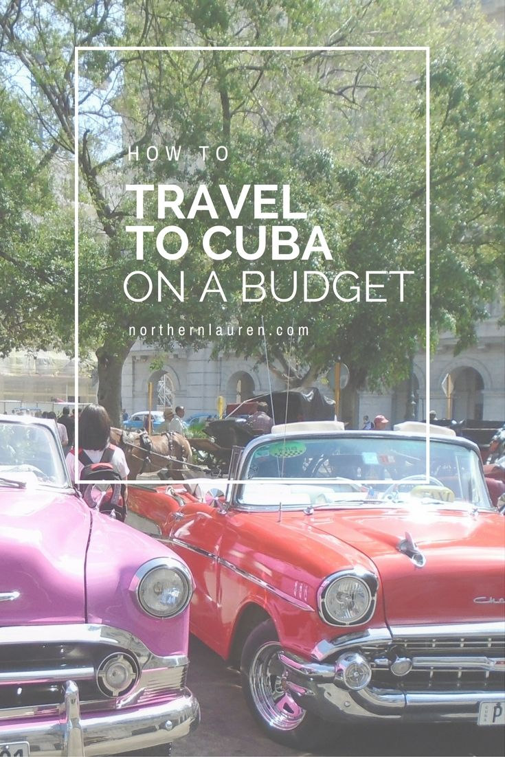 Top tips and tricks for how to travel on a budget to Cuba, including La Habana. The perfect guide for any first time Cuba budget traveller!