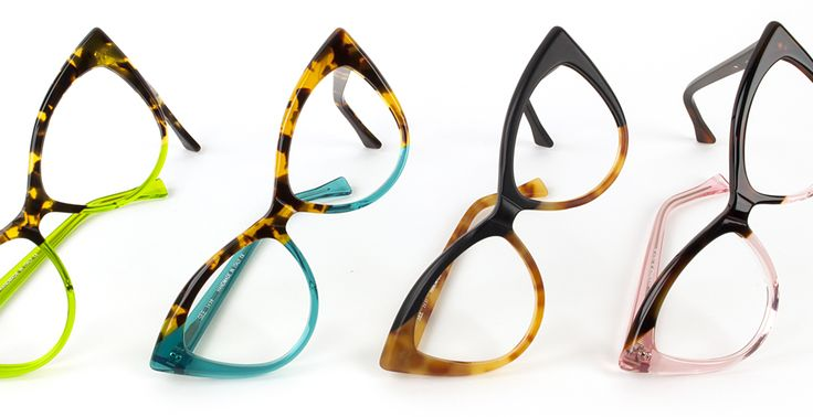 SEE 3630: Classic cateye frame with custom asymmetric acetate design, handmade in Italy. Coming Soon.
