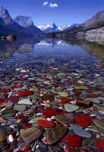 Озеро Макдональд, штат Монтана.