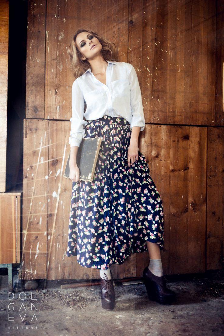 Юбка / хлопок 100%. Skirt / 100% cotton. Clothing for business woman