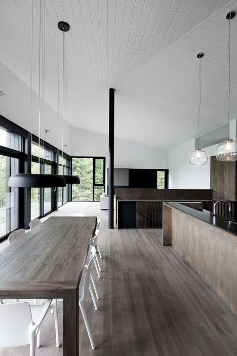.//www.bedreakustik.dk Dedicated to deliver superior interior acoustic experience.#pinoftheday#interior #scandinavian design#architecture#luxury#black#bedreakustik//