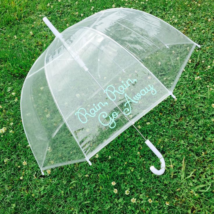 Ships Free! Monogram Umbrella, Personalized Umbrella, Clear Dome Umbrella, Rain Umbrella, Photo Prop, Wedding Umbrella