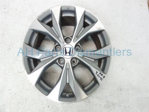 "Used 2012 Honda Civic Rear passenger WHEEL/RIM, 17"" 5 spoke light curb 42700-TR4-A91 42700TR4A91. Purchase from https://ahparts.com/buy-used/2012-Honda-Civic-Rear-passenger-WHEEL-RIM-17-5-spoke-42700-TR4-A91-42700TR4A91/116048-1?utm_source=pinterest"