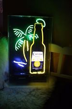 CORONA EXTRA Leuchtreklame Neonreklame LED
