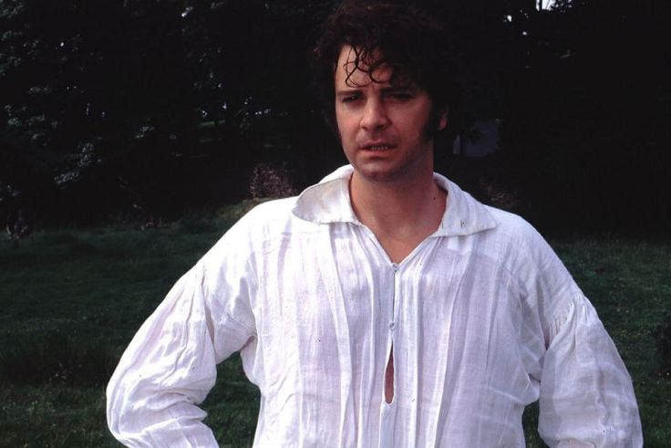 TELEVISION PROGRAMMES:  Pride and Prejudice. Colin Firth pictured as Fitzwilliam Darcy, in a scene from the BBC adaptation of the novel by Jane Austen.