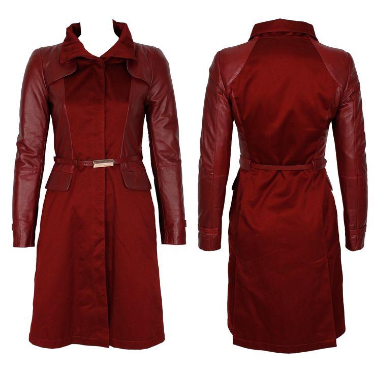 #whoswho #greenbird #marinamall #abudhabi #abudhabifashion #abudhabistyle #dubai #dubaifashion #dubaistyle #fashionista #womenswear #eveningwear #casualwear #fall2013 #winter2014 #jacket #burgundy #nylon #raincoat #falljacket #trenchcoat
