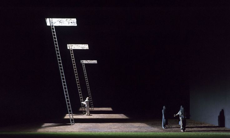 SET DESIGNER Michael Levine COSTUME DESIGNER Petra Reinhart DIRECTOR Robert Carsen The Magic Flute by W.A.Mozart. Originally produced for Baden Baden festival in 2012. Transferred to The Paris Opera in 2014.