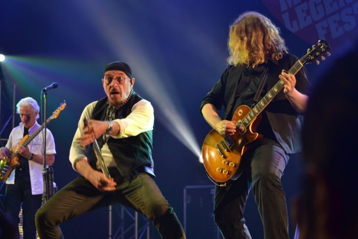 Ian Anderson de Jethro Tull  en el BBK Music Legends Fest 2016