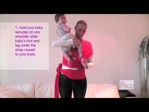 How to use Littlemico Baby Wrap Carriers.