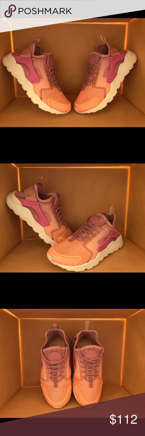 Air Huarache Run Ultra NWT. In box - no lid. Designed to stretch with your foot, the Nike Air Huarache Women's Shoe has remained a sneaker staple since its 1991 debut, when it changed the face of running footwear forever. This Ultra version updates the original design with a lightweight construction for enhanced comfort. Nike Shoes Sneakers