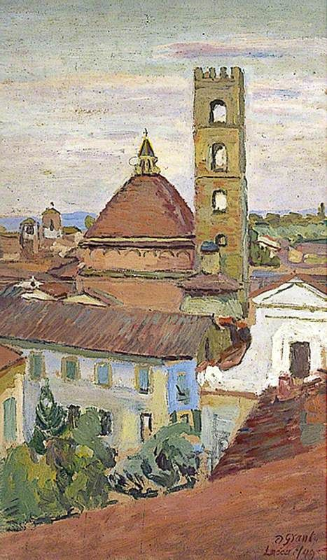 Toscane, Lucques, par Duncan Grant