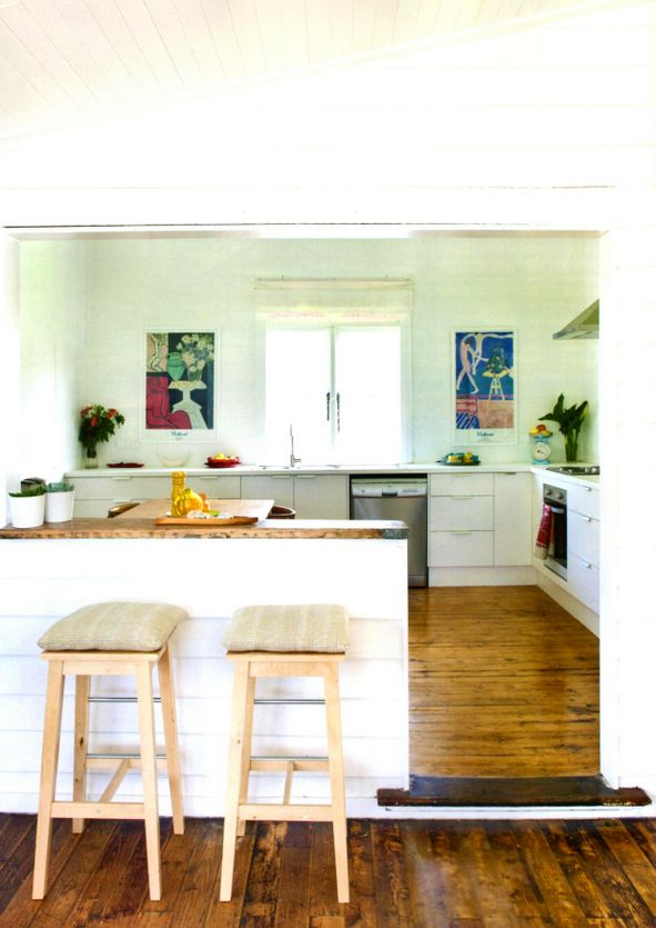Polka Luka designer, Alexandra Freeman renovated this house in Moruya, a country town in NSW.