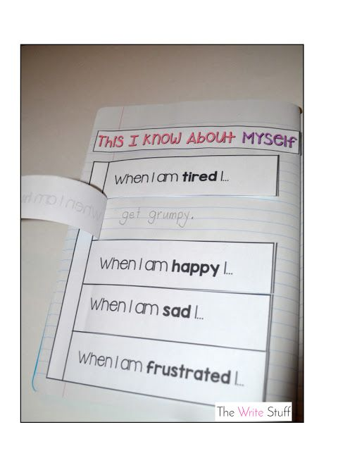 Interactive Mindful Notebooks for the Classroom.  #mindfulness #teachers #interactivenotebooks