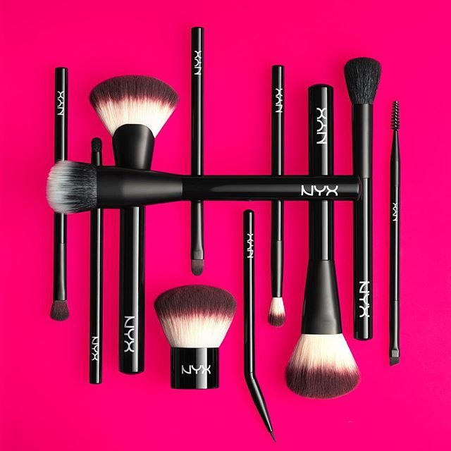 NEW Pro Brush Collection by NYX. These good quality make-up brushes are impressive and range in price from just $9 - $19 dollars. Love this affordable line! Available on their website or in drugstores.