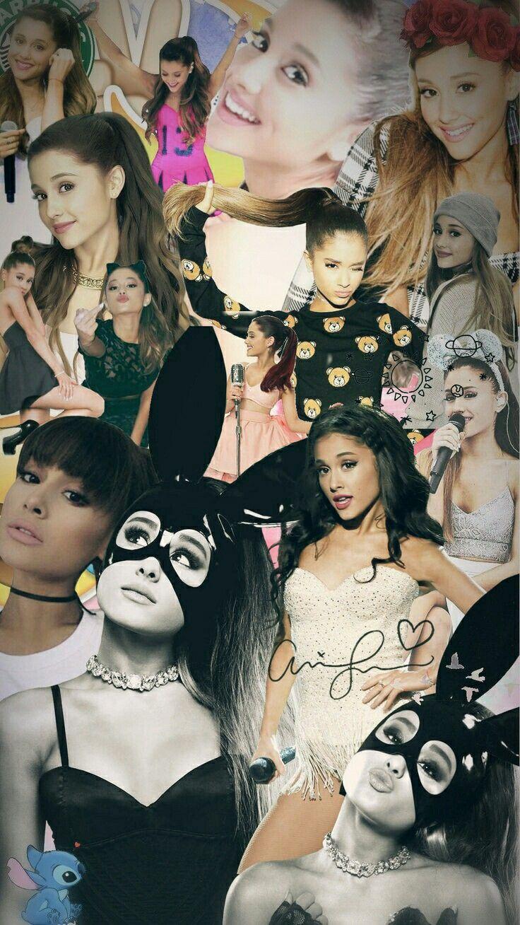 Lockscreen Ariana Grande // Fondo de Pantalla de Ariana Grande (hecho por mi)