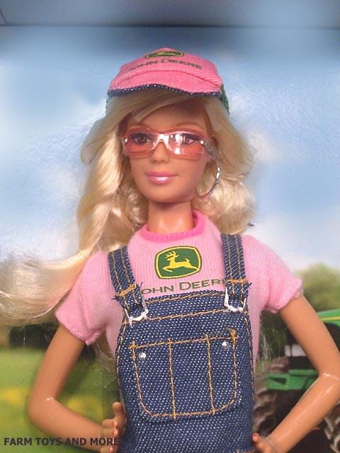 """12"""" Doll John Deere Barbie by Mattel"""