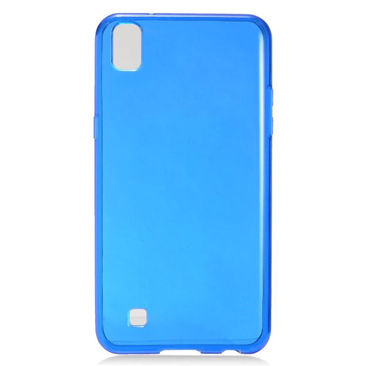 EGC Frosted Skin Slim-fit Flexible LG X Power Case - Blue