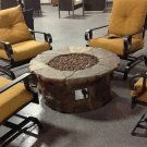 Red Ember Coronado Gas Fire Pit Table with Cover - Fire Pits at Hayneedle