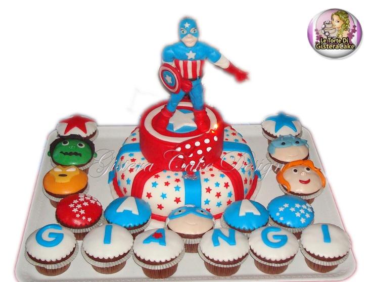 Cake Capitan America