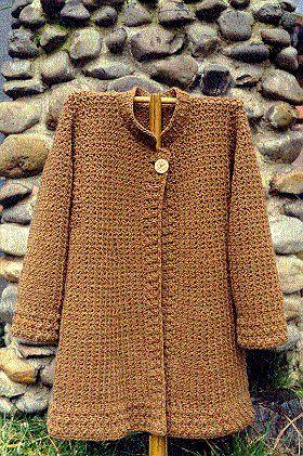 Crochet Cardigan, la chaqueta y el abrigo Patterns - de Angelika Hilados tienda