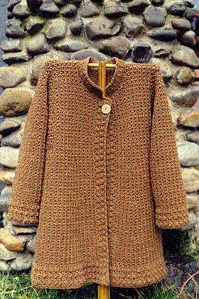 Pattern available {Crochet Cardigan, Jacket and Coat Patterns - Angelika's Yarn Store}