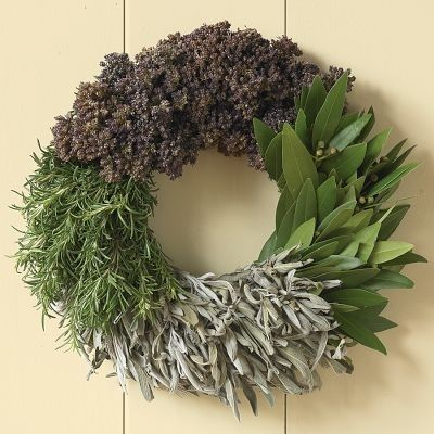 Cooking Herbs | 50 Unexpected Wreaths You Can Make Out Of Anything