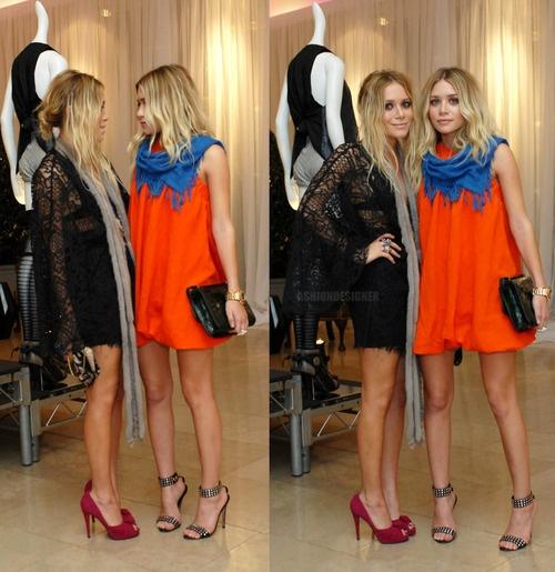 olsens: Orange Dresses, Design Handbags, Sisters Sisters, Ashley Olsen, Leather Handbags, Style Icons, Prada Handbags, Fashion Handbags, Olsen Twin