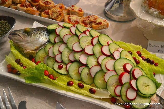 Christmas Open House 2013 - menu ideas for heavy appetizers and christmas punch