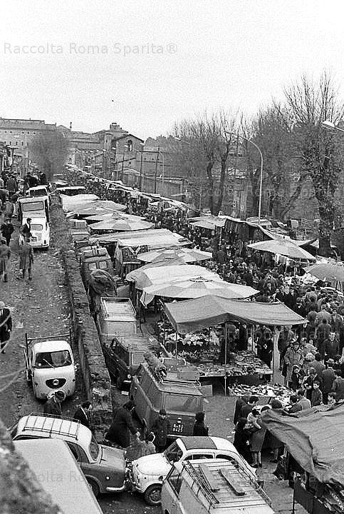 Roma Sparita - Mercato di Porta Portese