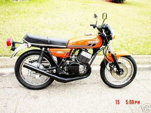 YAMAHA RD350 FACTORY OWNERS REPAIR MANUAL 1972-1979 DOWNLOAD