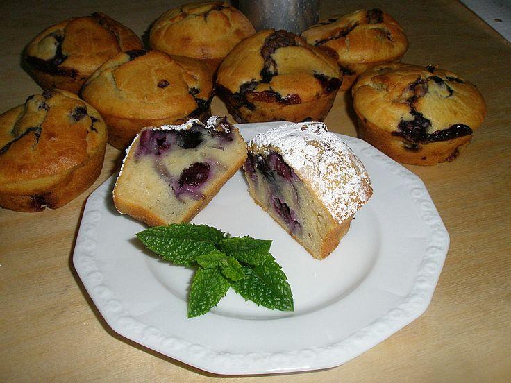 Heidelbeermuffins, ein schönes Rezept aus der Kategorie Kuchen. Bewertungen: 104. Durchschnitt: Ø 4,6.