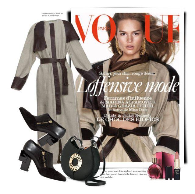 """Loewe Spring 2017 - Vogue"" by sella103 ❤ liked on Polyvore featuring Loewe and L'Oréal Paris"