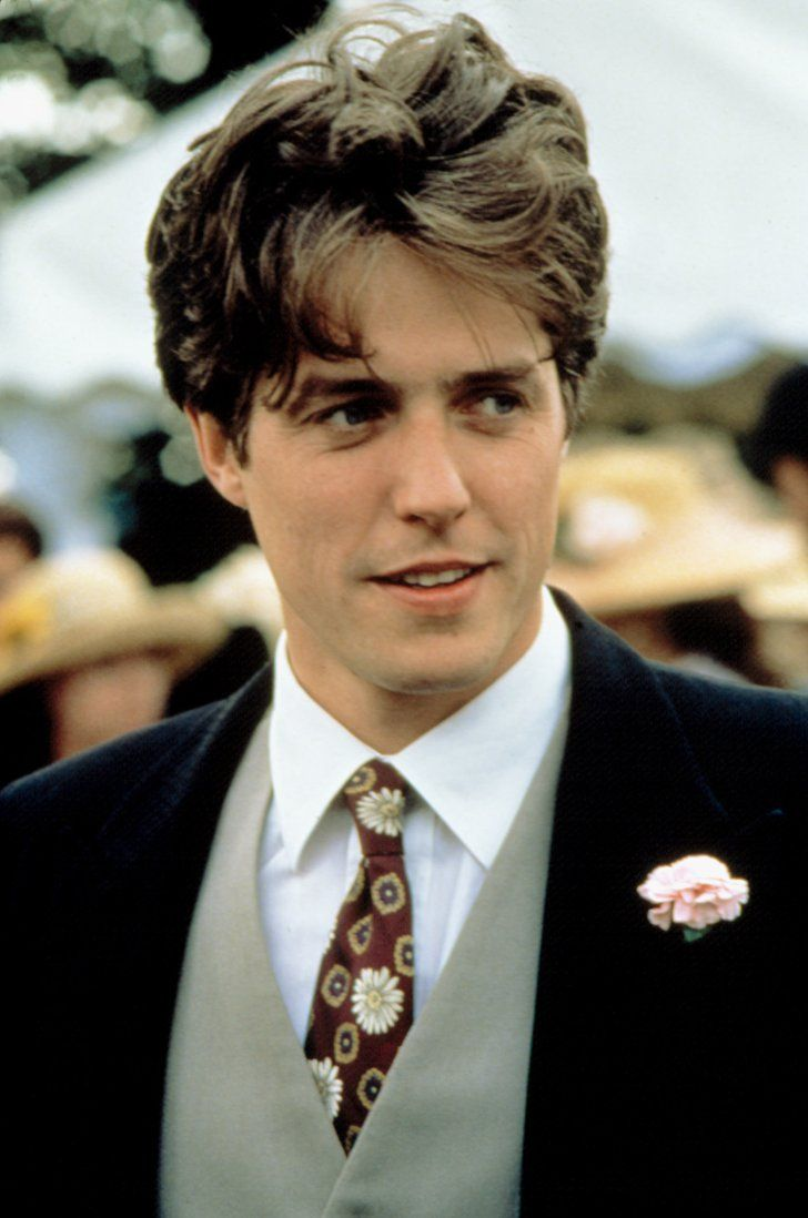 Pin for Later: It's Time to Remember Hugh Grant at His Foppish, Floppy-Haired Best Four Weddings and a Funeral, 1994