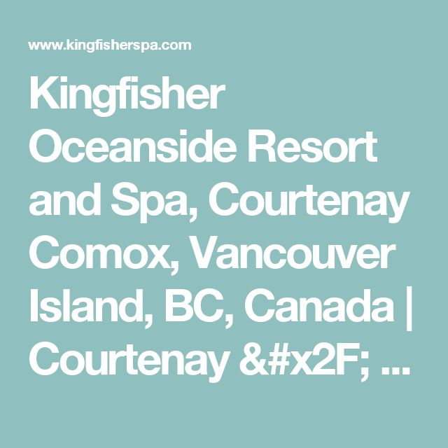 Best Sightseeing Vancouver Island Images On Pinterest - The 12 best luxury spa resorts in canada
