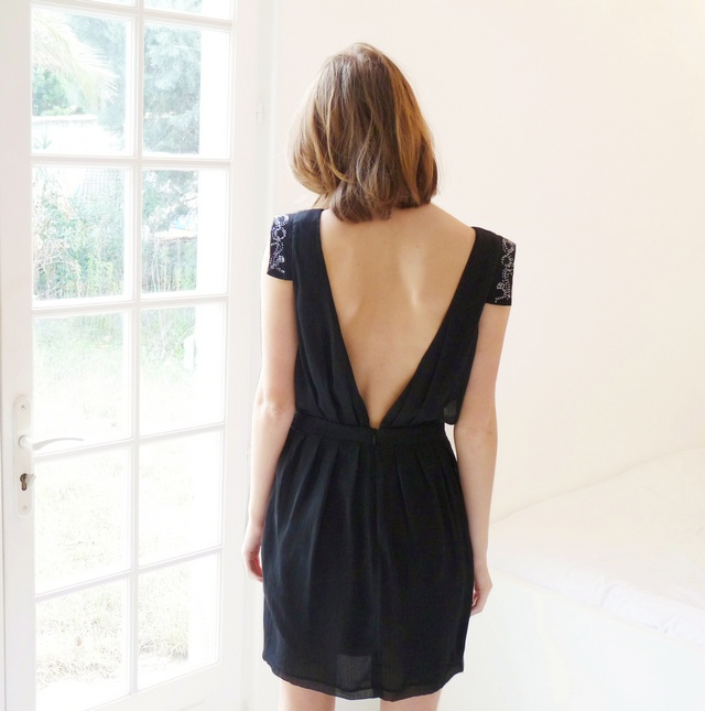 Robe noire #black #dress
