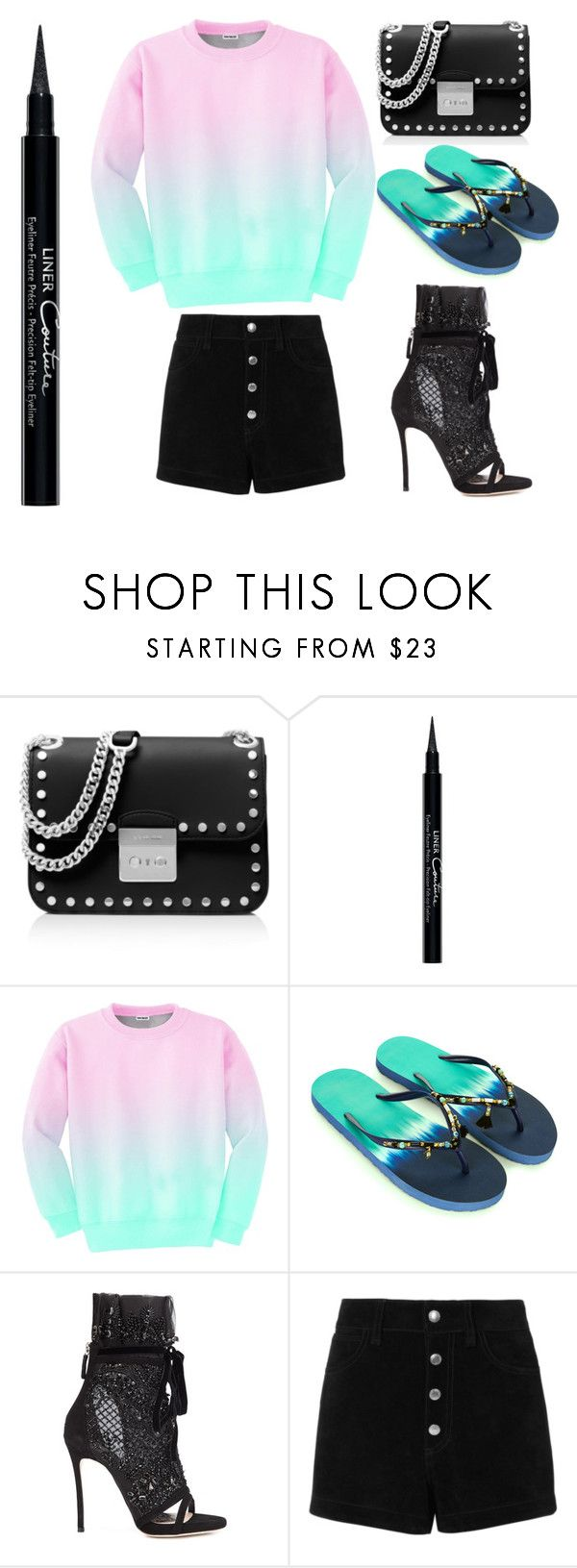 """""""Step into summer!"""" by chloefairweather ❤ liked on Polyvore featuring MICHAEL Michael Kors, Givenchy, Aloha From Deer, Accessorize, Dsquared2 and rag & bone/JEAN"""