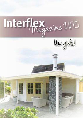 Download hier uw Interflex tuinhuisjes en blokhutten brochure