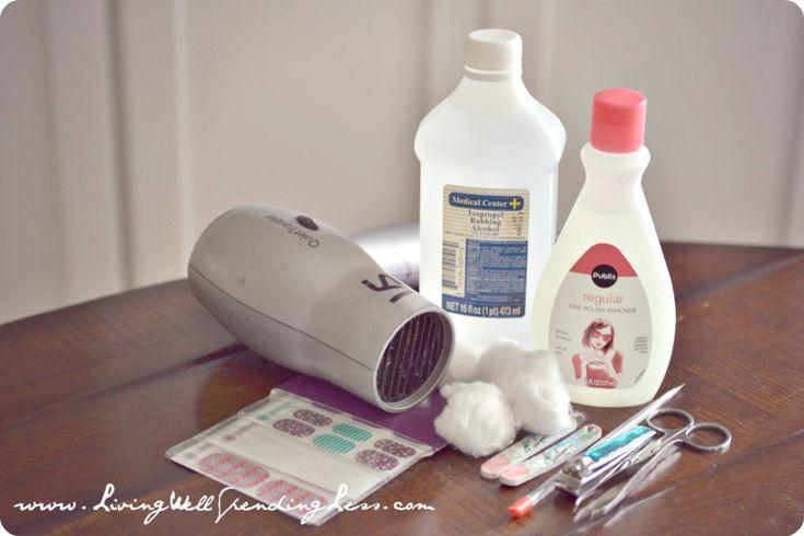 DiY Chevron Manicure & Pedicure Tutorial