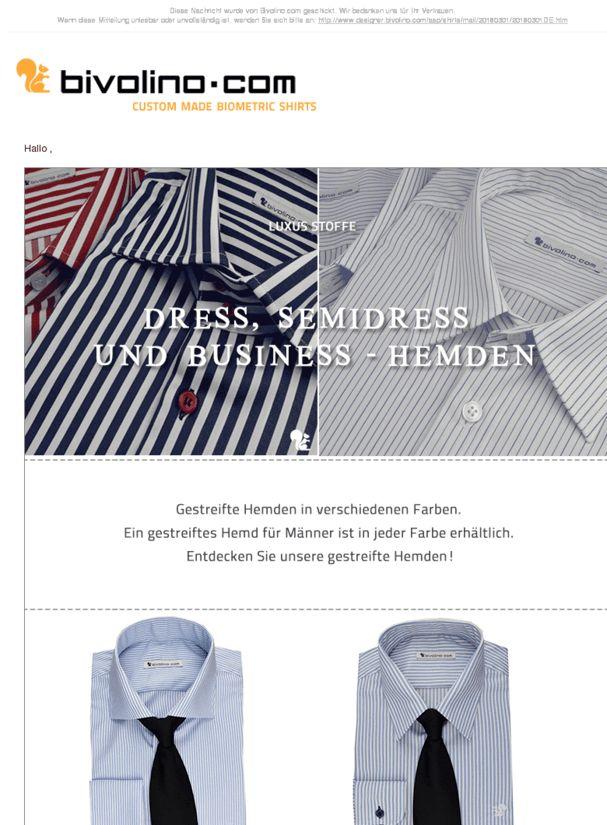 Dress, Semidress und Business - Hemden