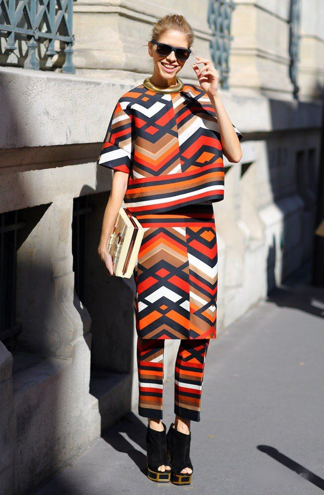 Геометрические принты  - http://fashiontweaks.ru/