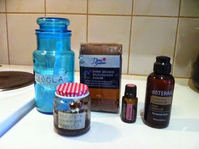 DoTERRAn eteeriset öljyt sekä Juice plus+ tuotteet: Ihonkuorinta-aine