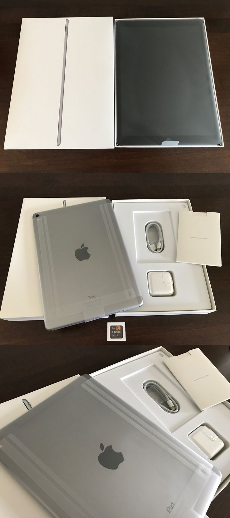 computers: New Apple Ipad Pro 9.7 128Gb Wi-Fi + Cellular Factory Unlocked Space Gray 4G -> BUY IT NOW ONLY: $600 on eBay!