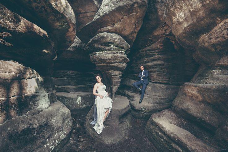 sesja ślubna góry stołowe
